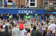Olympic Torch Relay, Crowborough, East Sussex, UK