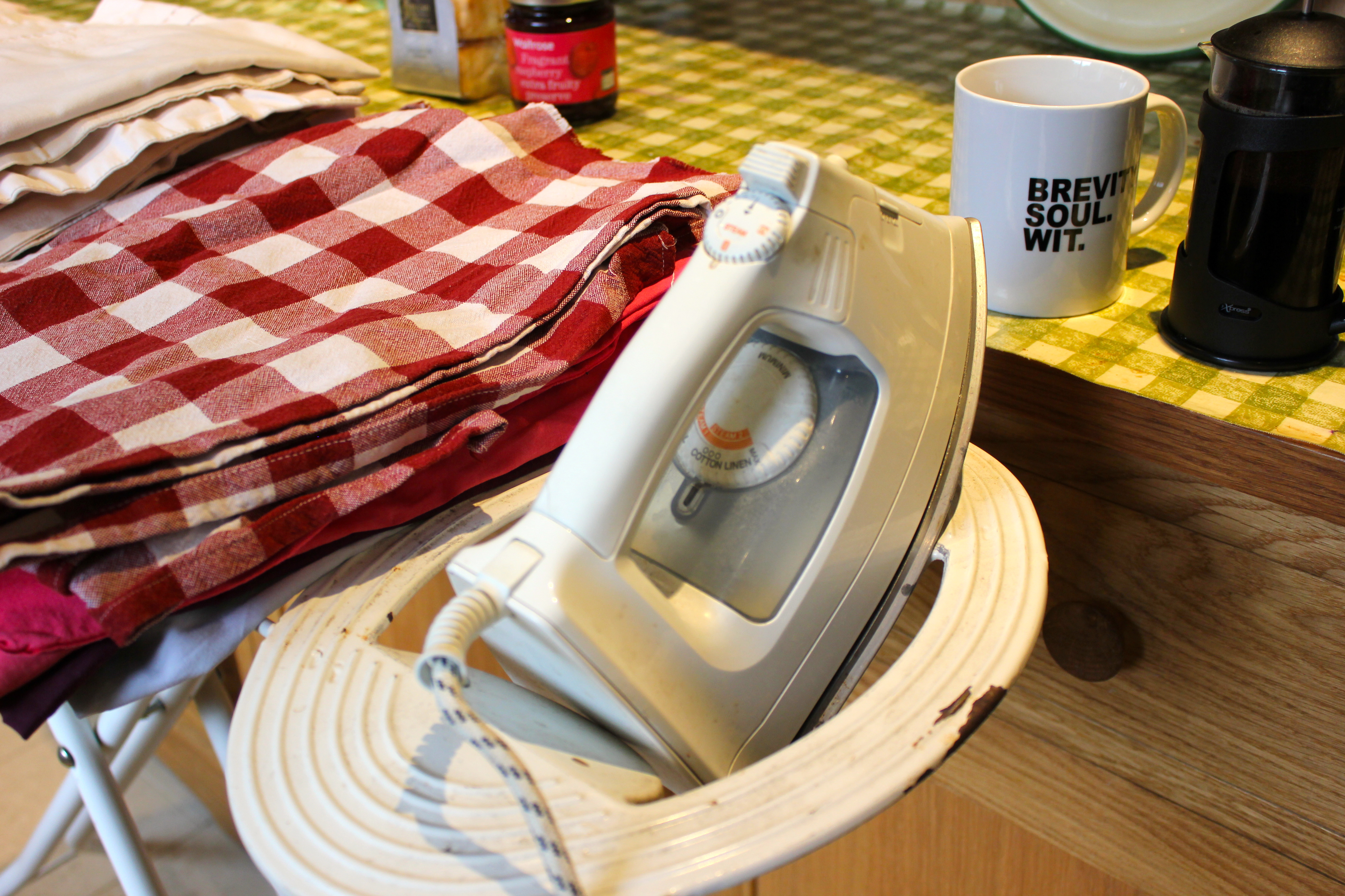 Ironing… the Truth is Out!