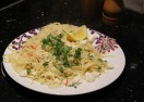 Crab Linguine….