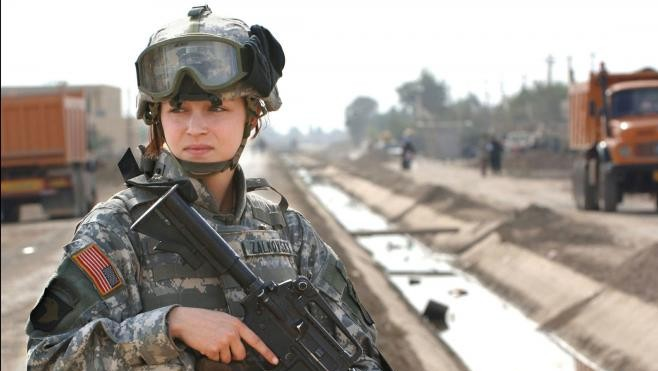 Women Win Battle to Serve on Front Line