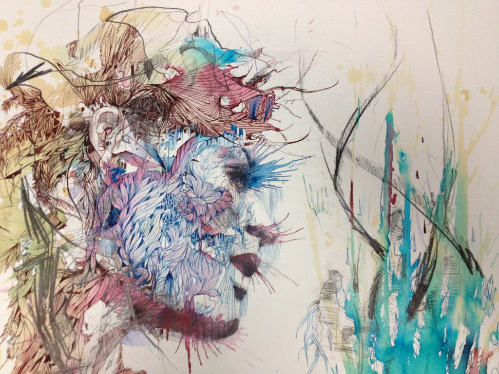 Gold Thread to Gold Leaf – Carne Griffiths