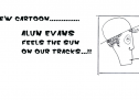New Cartoon By Alun Evans: Feel the Sun on our Tracks