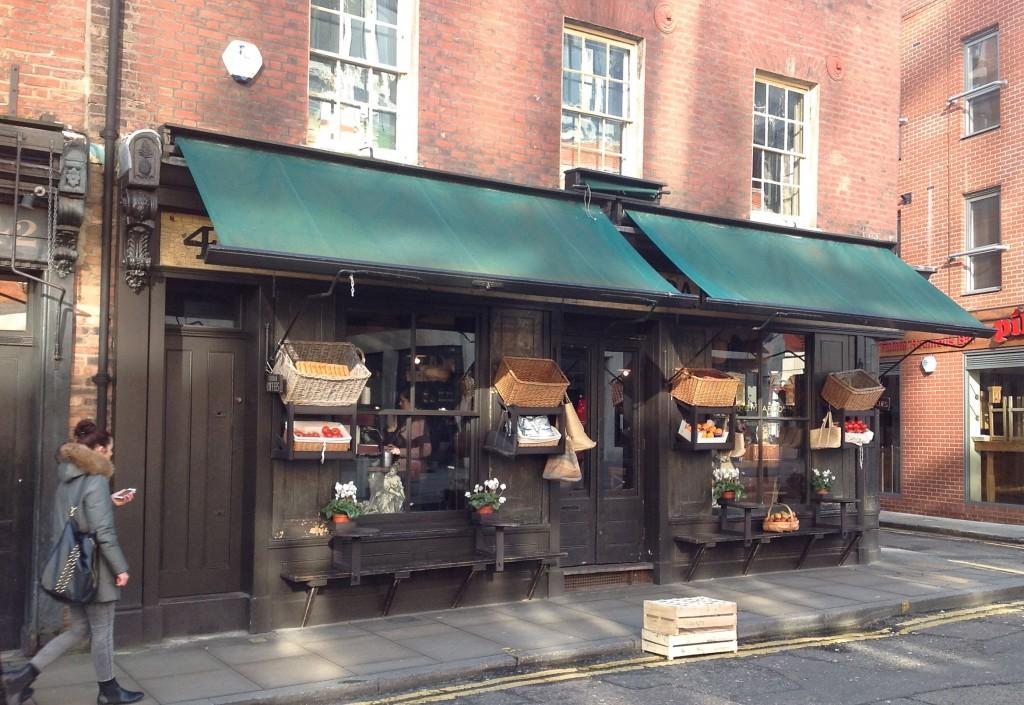 Verde & Company, 40 Brushfield Street, Spitalfields